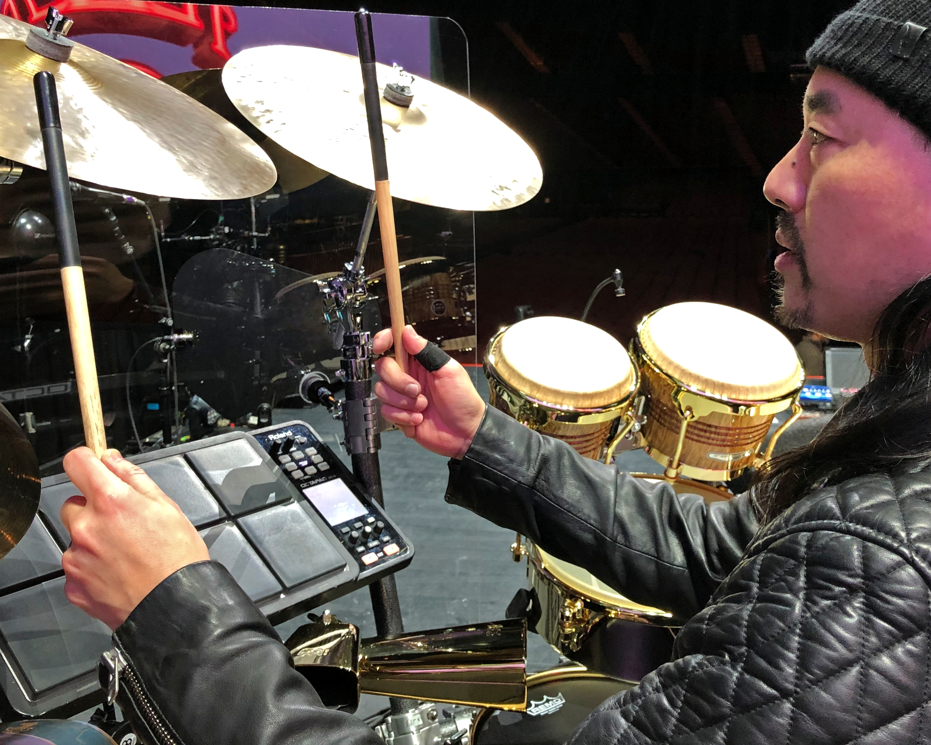 9e34edcf Vater is excited to welcome world-class musician Taku Hirano to the Vater  Family of Artists. Taku is currently on tour playing percussion on  Fleetwood Mac's ...